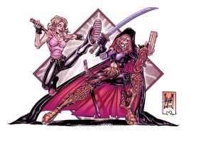 Buffy VS Magdalena by Soul-the-Awkward