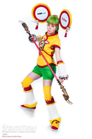 Dragon Kid Cosplay - Full View by Rose-Pastel