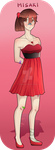 M-H: valentine dress by saeriin