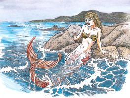mermaid by Snake-Artist