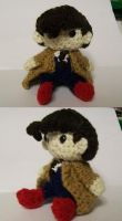 Amigurumi 68: 10th Doctor by AbstractAttic