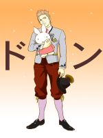 Brother Holland dressed by Inko-Dokotei