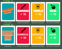 Combat Card Samples by wildcats25