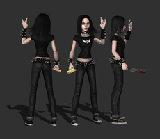 AliceHeavyMetal, wip1 by tombraider4ever