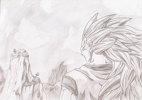 Dragon Ball Goku SSJ3 by SettoriQ