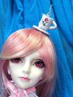 Ball Jointed Doll Tiny Top Hat: The Teacup by TinyTopHats