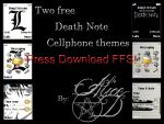 Two Cellphone Themes by IcecoldAngel