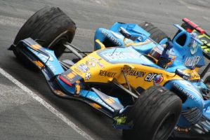 Alonso victory in Monaco by CousCoussina