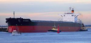 Tug Escort Into Newcastle Harbour by elyobkram