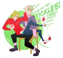 Tickles by Jackce-Art