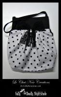 Pierrot Bag by LeChatNoirCreations