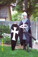me as a Hospitaller Knight by Ulrich-Ironpaw