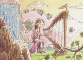 Joanna Newsom by Bakke