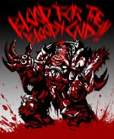 bloodwarrior by SkeeNLangly