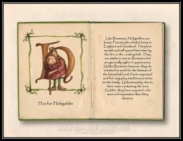 H is for Hobgoblin by WildWoodArtsCo