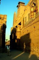 Egypt temple Luxor by gostknight