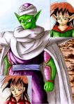 Piccolo, the rescuer, is here by CelestialRayna