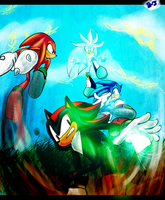 sonic rivals by blue-jackpot