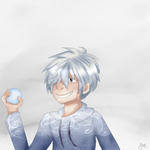 Snow ball fight! by franceeisbest
