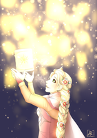 And at last I see the light, let it go. by Maxxie-Delu