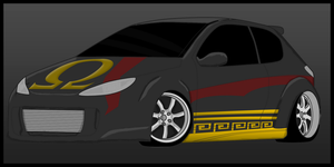 Kratos Car by Luned13