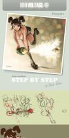 STEP BY STEP - Happy new year by Ardila