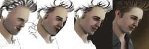 Edward Cullen WIPs by Amenite