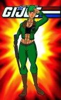 Gi Joe Clutch Superbuff Female  Version by RWhitney75