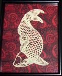 Chinese Carp - Paper Cutting by maiacallia