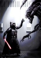 Darth Vader Meets His Match by Robert-Shane