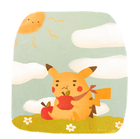 PIKACHEW by sleepybro