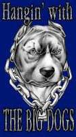 Bulldog And Chain by Tyger-graphics
