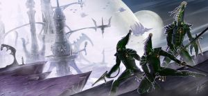 Eldar by John-Stone-Art
