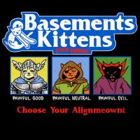 Basements And Kittens by HillaryWhiteRabbit