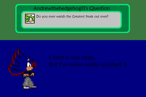 Answer To Andrewthehedgehog11's Question by AskSoloTheSoulhog