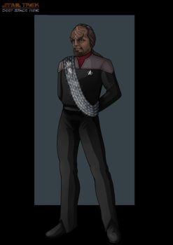 commander worf by nightwing1975