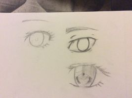 Eye practice by TheTrueBrokenToy