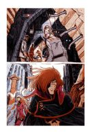 captain Harlock fan art Page 2/2 by AntoineDode