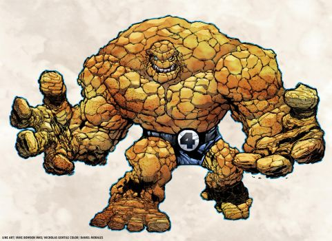 THE THING by MBowden and Nicholas Gentile colored by Dany-Morales