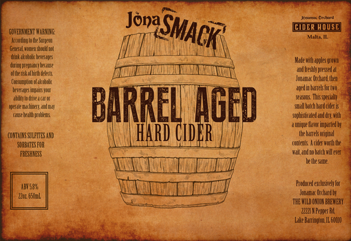 Barrel Aged Hard Cider by LaurenRutledge