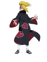 Deidara Render :) by vdb1000