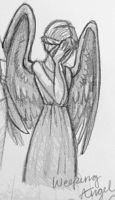 Weeping Angel Sketch by Atlantistel
