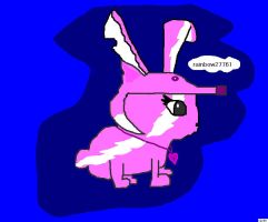 pink bunny  :D by raven123987
