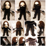 Winter Soldier Plush by S2Plushies