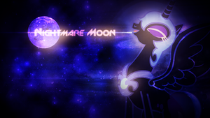 Nightmare Moon Wallpaper by SandwichDelta