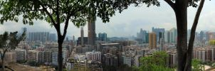 View of Western Kowloon by lazyseal8