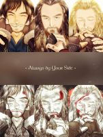 Kili Thorin Fili | Always by your side. by carrotuc
