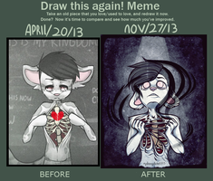 Draw this again meme! by s-ailor