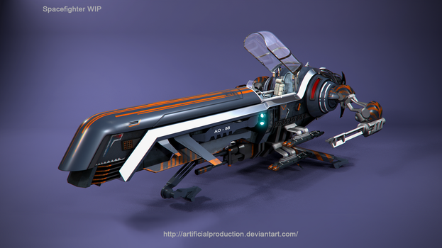 Spaceship 2 by Artificialproduction