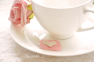 Flower and cup2 by SosoAbdullah